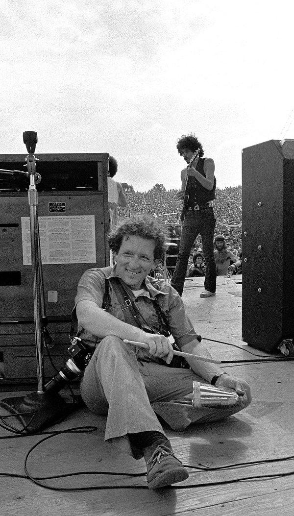Woodstock Baron Wolman Carlos Santana