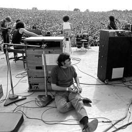 Bill Graham at Woodstock 1969