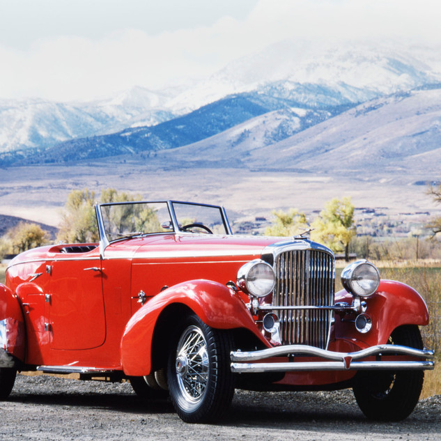 1933 Duesenberg Speedster, Model SJ