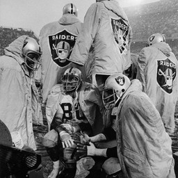 Raiders at Denver 1974
