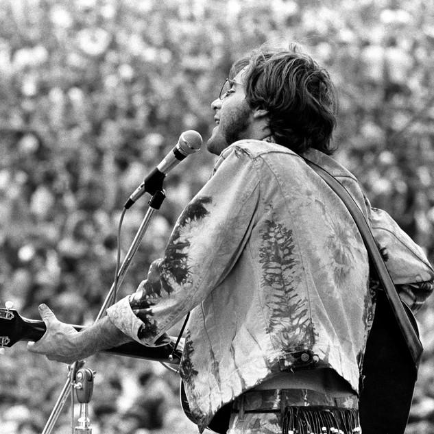 John Sebastian at Woodstock 1969