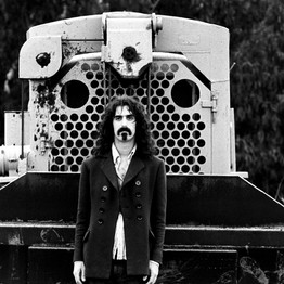 Frank Zappa near his home in Laurel Canyon, Los Angeles, May 1968
