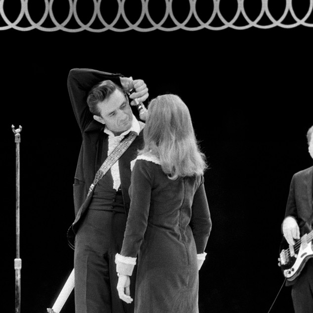 Johnny and June Carter Cash, 1967