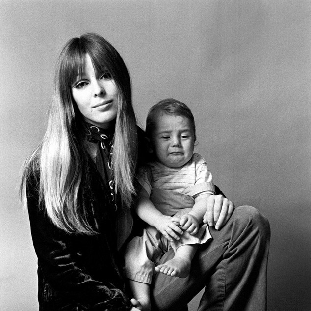 Catherine James and son 1968