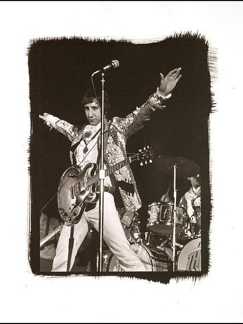 Platinum Print - Pete Townshend
