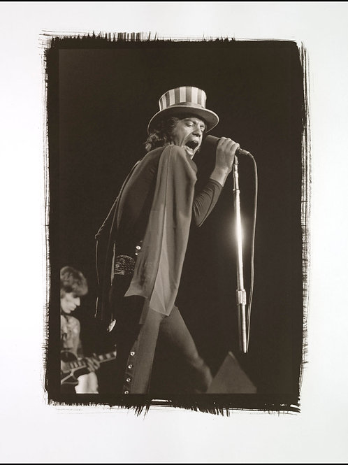 Platinum Print - Mick Jagger & Keith Richards
