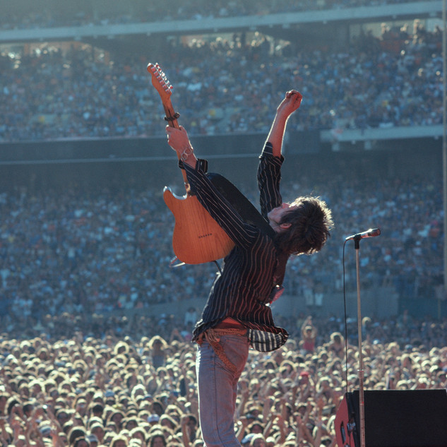 Keith Richards, The Rolling Stones, 1978