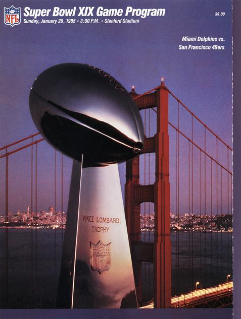 Super Bowl Program
