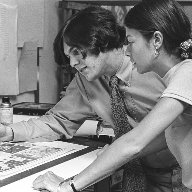 Jann and Jane Wenner, 1968