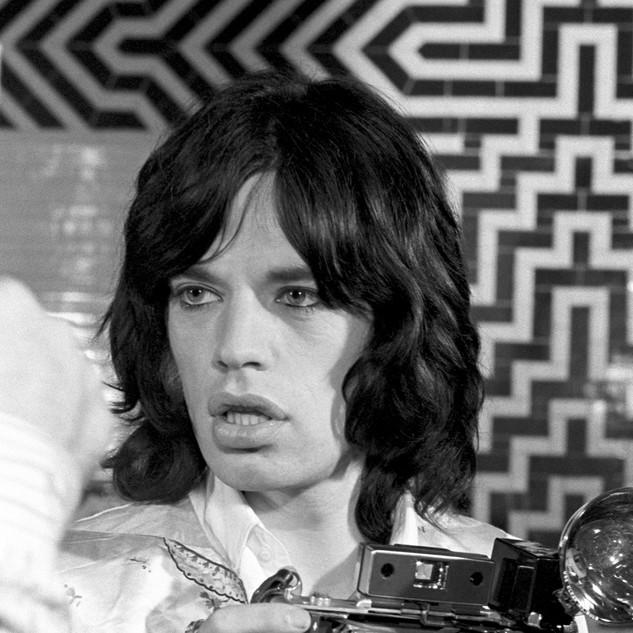 Mick Jagger, London, 1968