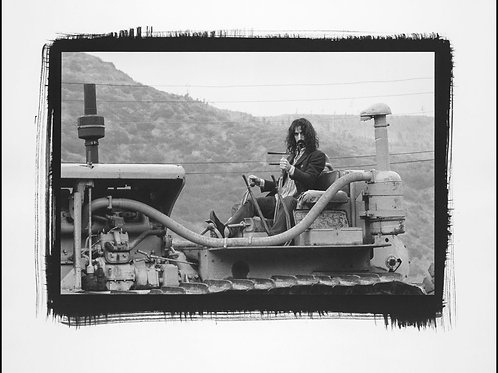 Platinum Print - Frank Zappa