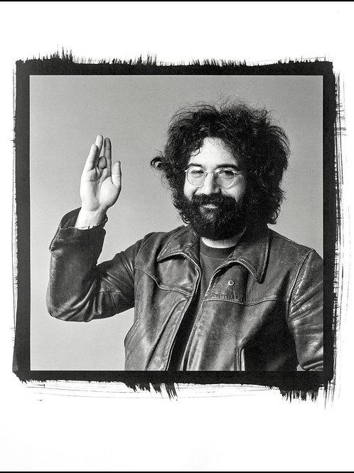 Platinum Print - Jerry Garcia