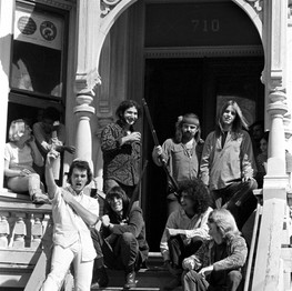 The Grateful Dead, 710 Ashbury Street, San Francisco, CA, October 1967