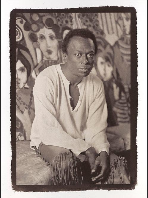 Platinum Print - Miles Davis