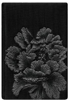 CARDHOLDER_PEONY IN BLACK