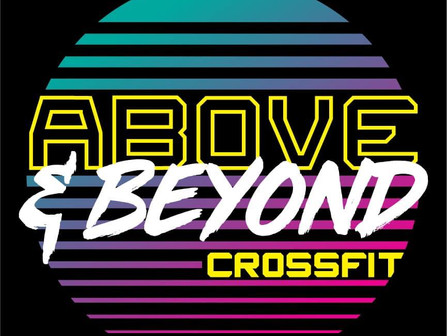 Above and Beyond Crossfit Will help YOU keep your New Year's Resolutions