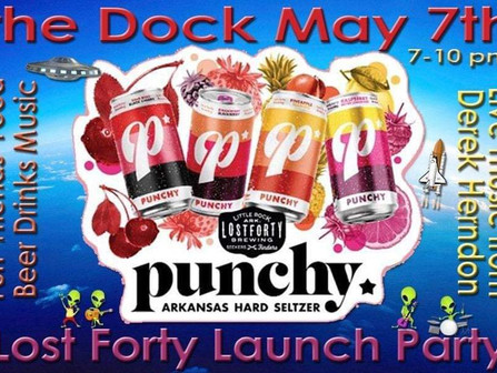 Lost Forty Launch Party, Friday, May 7th