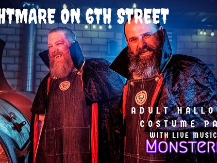 Nightmare on 6th Street:  Adult Halloween Costume Party