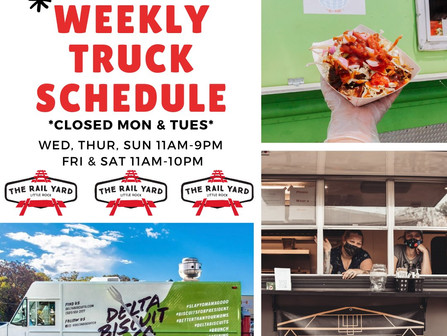 Another week of delicious eats and great times in the Yard!