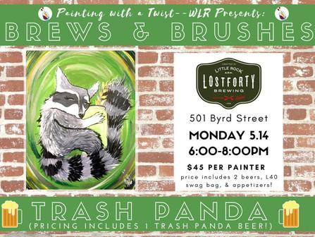 Paint your own Trash Panda