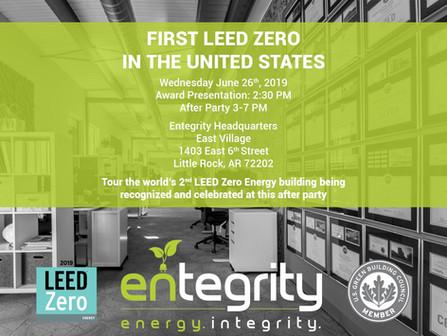 Entegrity Zero Energy Celebration