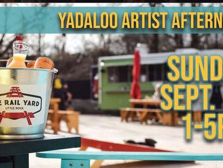 Yadaloo Artist Afternoon at The Rail Yard