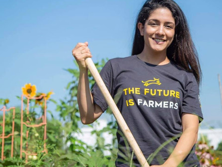 Heifer Urban Farm starter plant and swag sale
