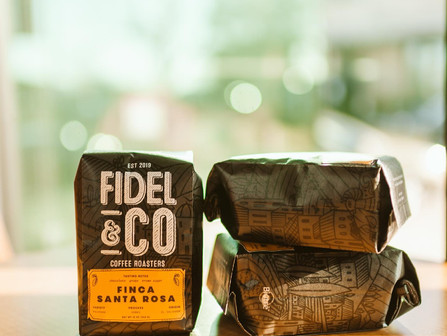 Monday is THE day to stock up on your coffee needs at Fidel & Co.