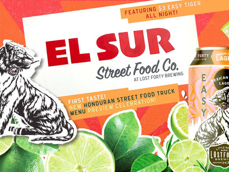 El Sur Street Food Co. PopUp at Lost Forty-Wednesday, April 24 4pm-9pm