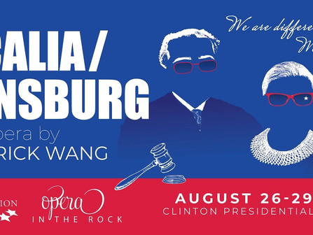 """Do you have your tickets for """"Scalia/Ginsburg: an Opera by Derrick Wang"""""""