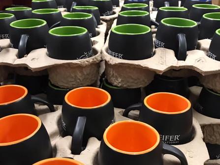 Just in...barrel mugs at the Shop@Heifer.