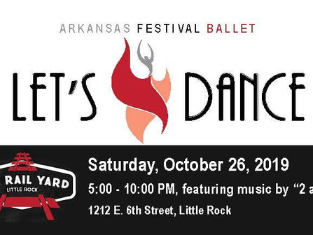 Let's Dance at The Rail Yard with the Arkansas Festival Ballet