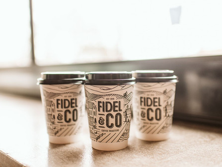 Busy?  Grab a cup to go from Fidel & Co.