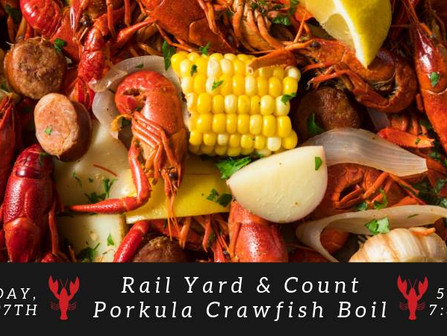 Crawfish Boil @ The Rail Yard
