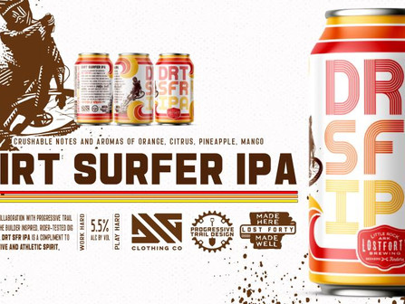 SATURDAY AT 11 AM CDT – 10 PM Dirt Surfer IPA Launch Party - Little Rock
