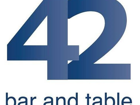 Dine in, Delivery, Take out all available at 42 Bar and Table