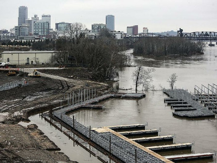 Permit issued for $17.8M apartments at yacht club near downtown Little Rock's East Village Neigh