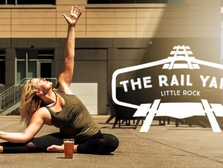 Yoga + Beer at The Rail Yard
