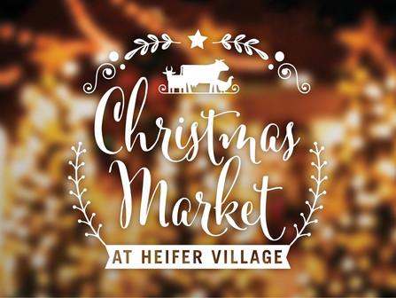 Christmas Market at Heifer Village