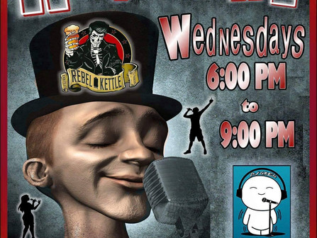 Karaoke Wednesday's @ Rebel Kettle