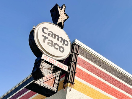 Camp Taco opening in SEPTEMBER