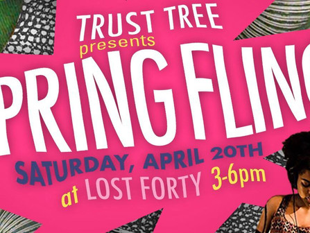 Spring has sprung and Trust Tree is teaming up with Lost Forty