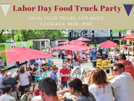 Labor Day Food Truck Party at The Rail Yard LR