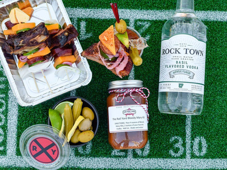 On Sundays, we watch football.  Make sure you are stocked up on libations before Sunday rolls around