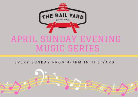 April Sunday Concert Series at               The Rail Yard
