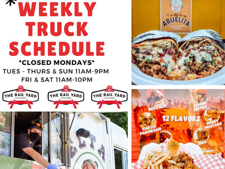 We are rollin' into another tasty week in The Yard
