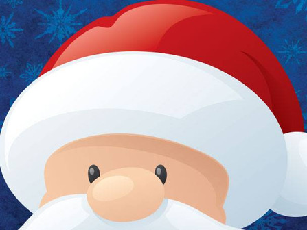 Santa at the Center:  Saturdays, December 1, 8, & 15 • 8 a.m. - Noon