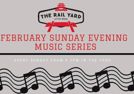February Music Series at The Rail Yard