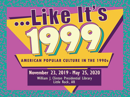 The 90's ARE BACK at The Clinton Presidential Center