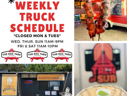 What's happening at The Rail Yard this week????